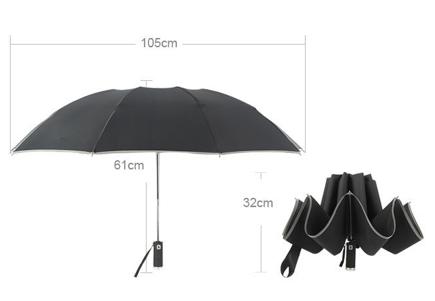 reverse folding umbrella