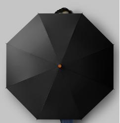business umbrellas