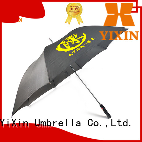 YiXin windproof large golf umbrellas for sale suppliers for outdoor