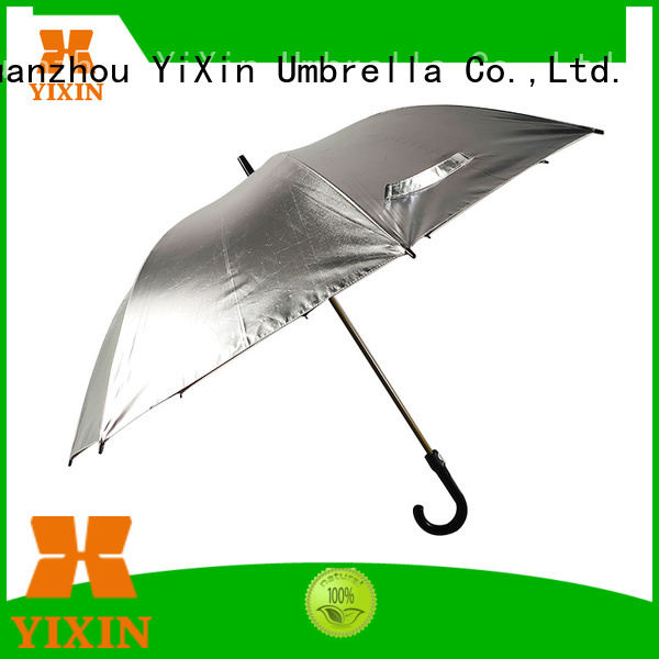 new big black umbrella silver for business for car