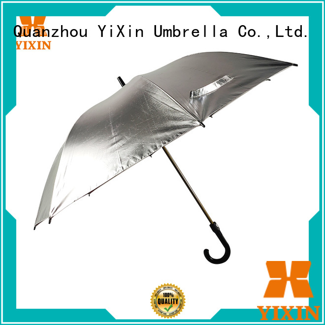 YiXin custom orange golf umbrella supply for outdoor