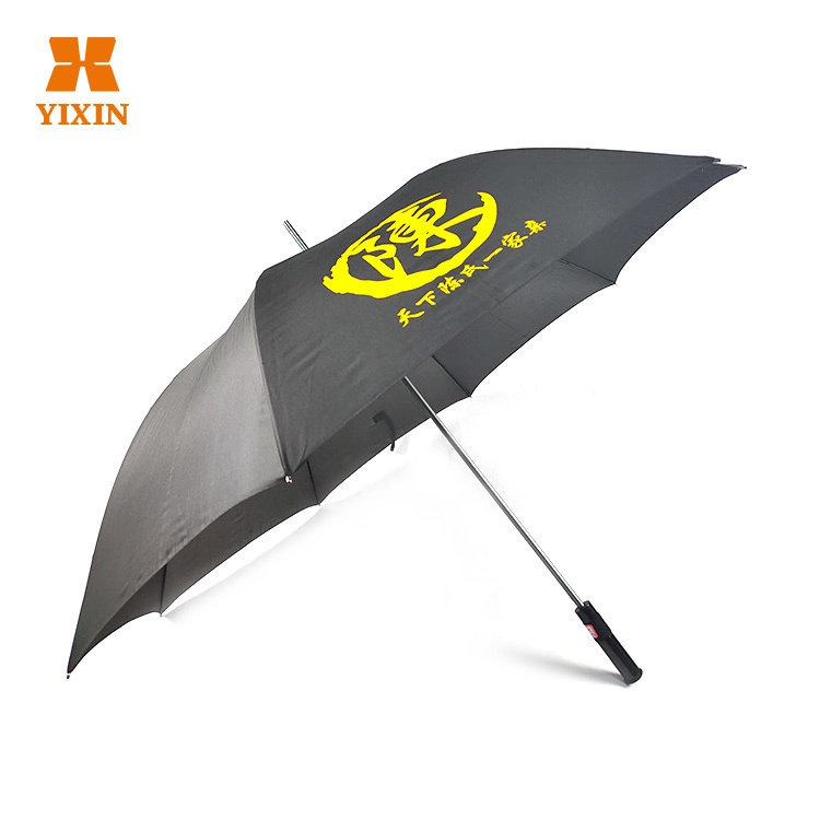 2019 High Quality Ultra Light Aluminum Alloy Automatically Open 29 inch 8 Rib Windproof Golf Umbrella