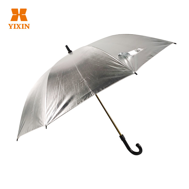 High Quality 23 Inch 8k Reflective Straight Golf Umbrella