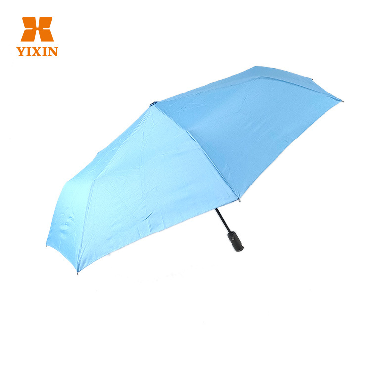 2019 New Style 3 Folding Auto Open and Close Strong Wind Fold Compact Umbrella