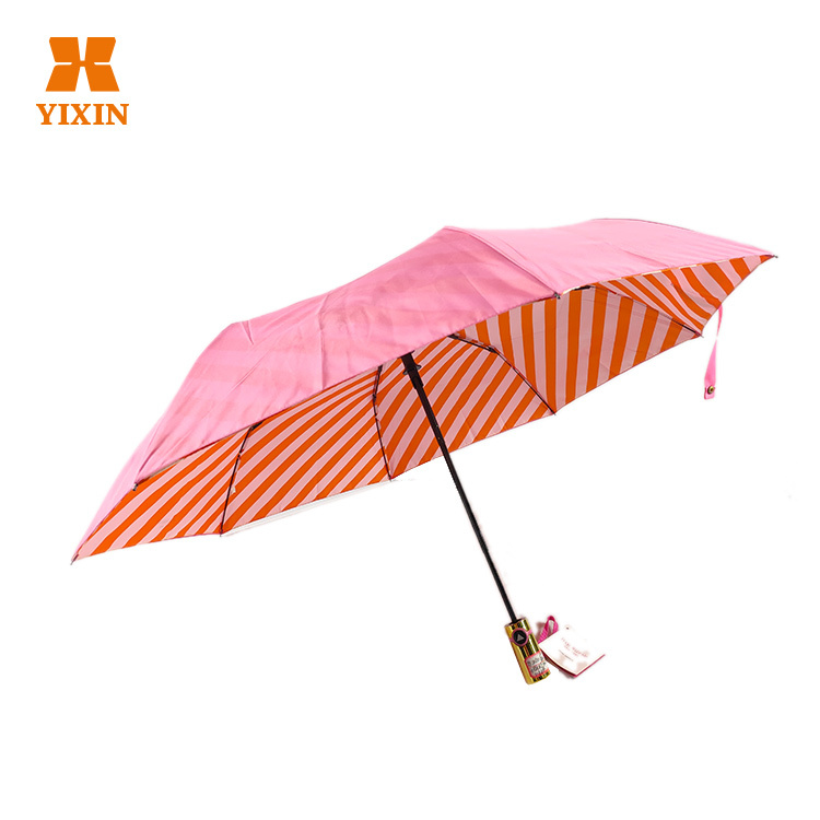 Customized Small Umbrella 3 Fold 2019 New Automatic Opening And Closing Folding Umbrella Ceiling