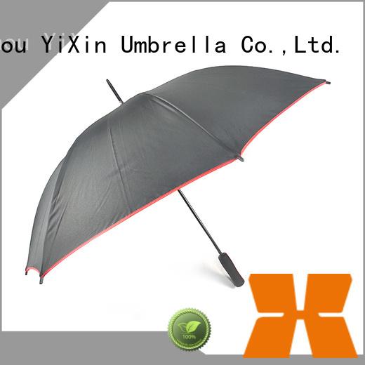 YiXin red long black umbrella for kids