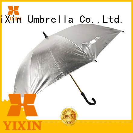 YiXin windproof blue and yellow golf umbrella for business for women