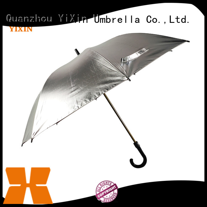 YiXin handle green golf umbrella suppliers for men
