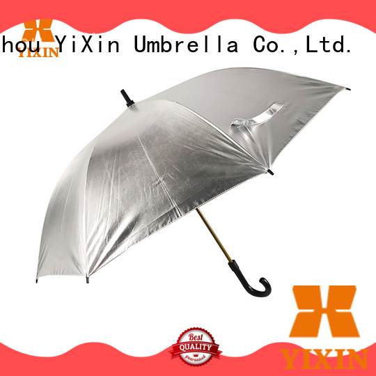 yellow golf umbrella quality supply for outdoor