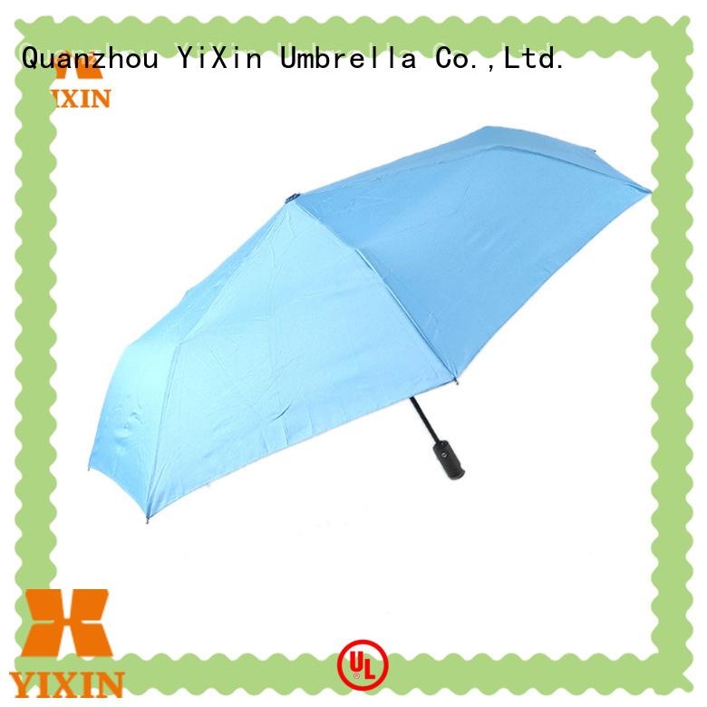 YiXin custom non collapsible umbrella for business for car