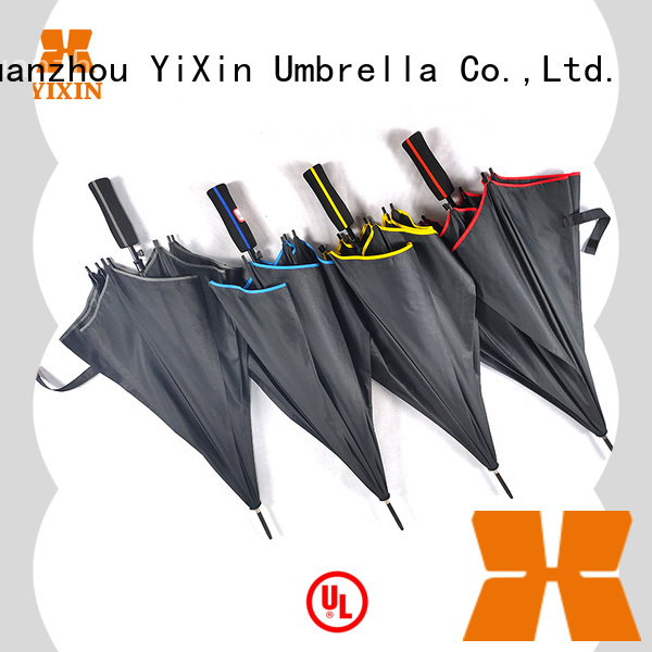new umbrella leather handle 190t factory for kids