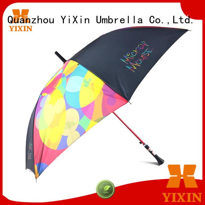 YiXin minimum stick umbrellas sale for outdoor
