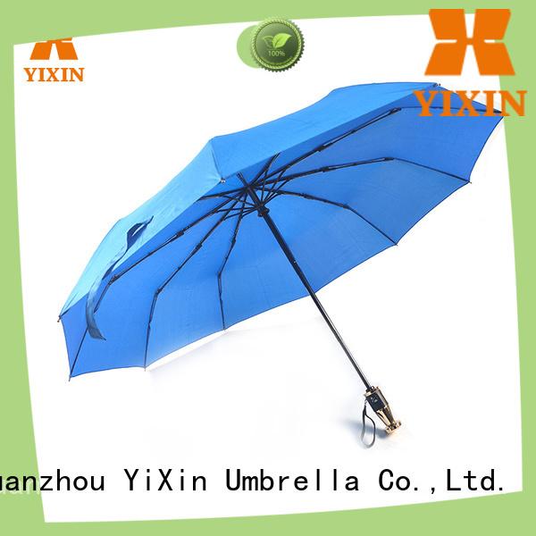 YiXin stripe black telescopic umbrella for business for kids