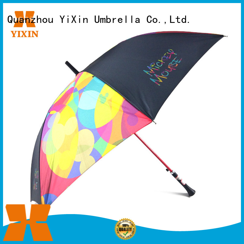 YiXin 8k long stick umbrella for business for women