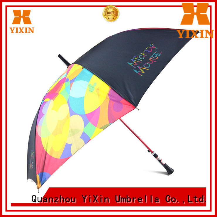 YiXin manual women's stick umbrellas factory for men