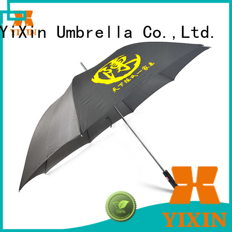 YiXin custom logo golf umbrella suppliers for men