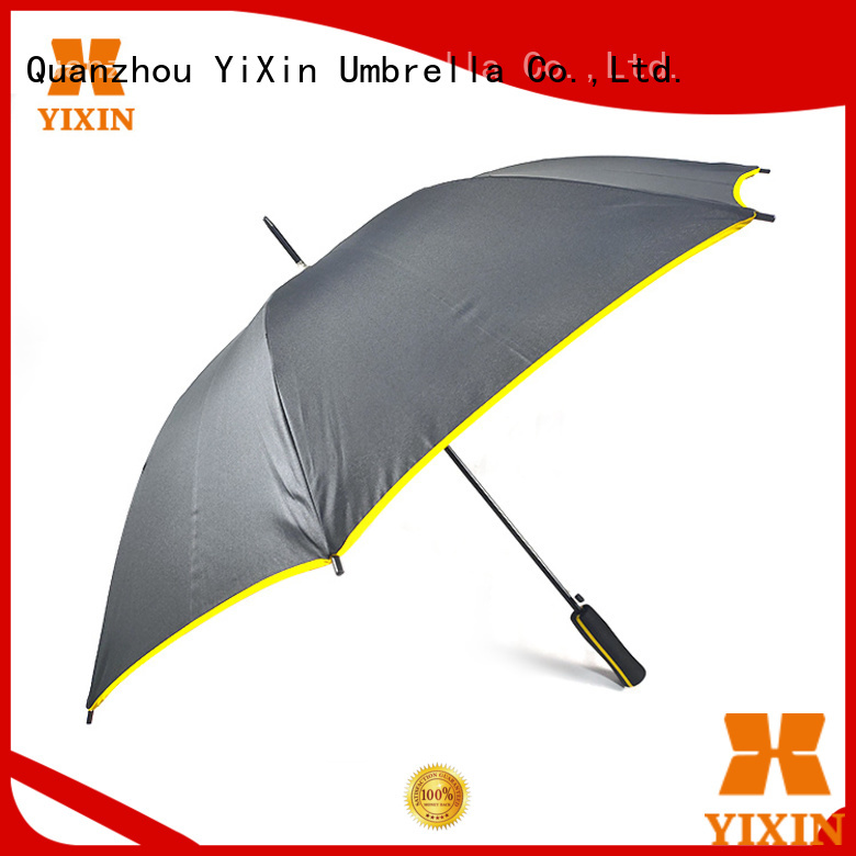 latest black long handle umbrella blue for business for outdoor
