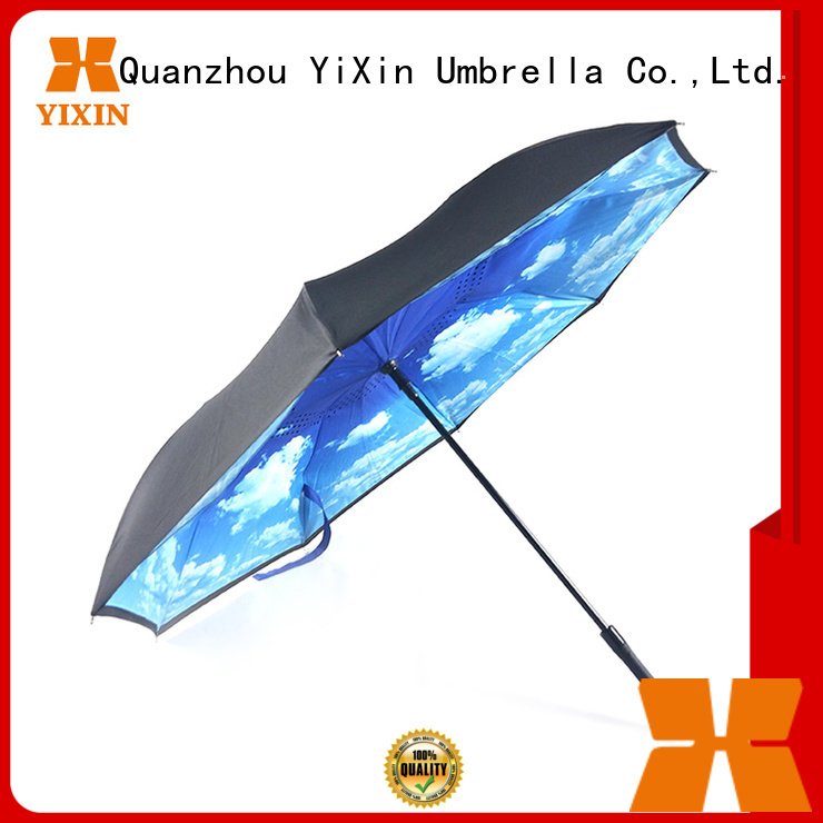 latest umbrella that closes inside out waterproof manufacturers for kids