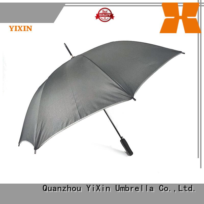 YiXin custom tartan golf umbrella suppliers for outdoor