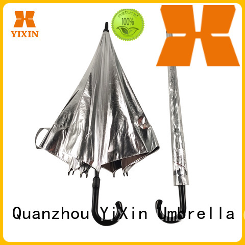 custom big black umbrella straight manufacturers for outdoor