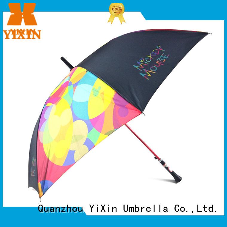 YiXin top rain umbrella art supply for men