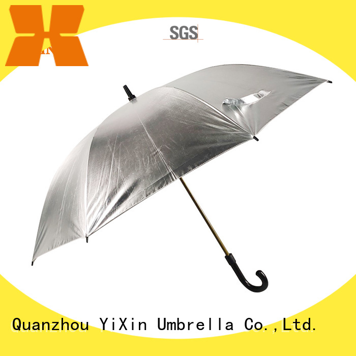 YiXin wind golf umbrella uk company for outdoor