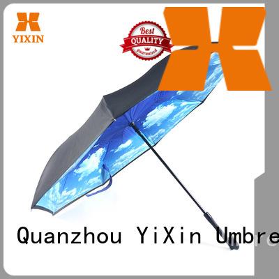 YiXin upside fold away umbrella company for women