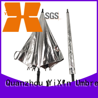 YiXin reflective golf cart umbrella supply for car