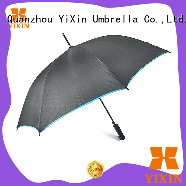 YiXin wholesale mens stick umbrella supply for men