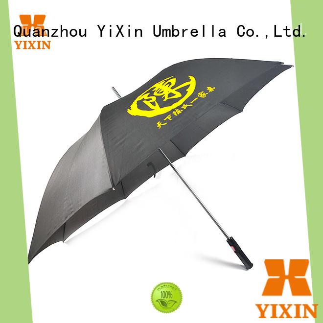 YiXin fiber yellow golf umbrella suppliers for women