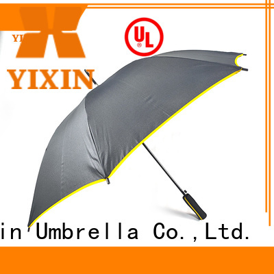 wholesale telescoping patio umbrella yellow for business for car