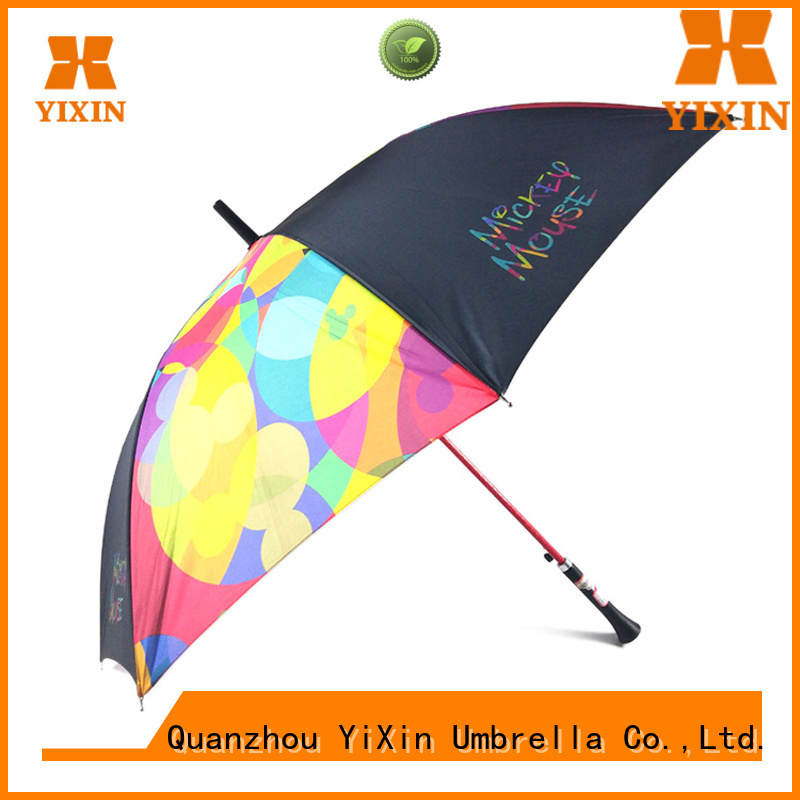 YiXin custom umbrella with handle on side supply for car