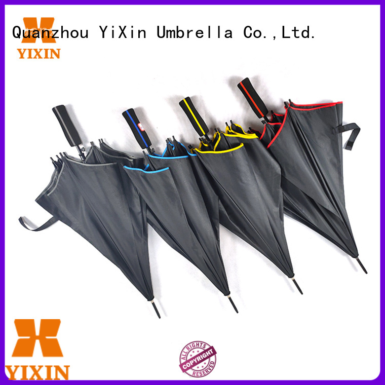 high-quality gentleman's black umbrella sky for car