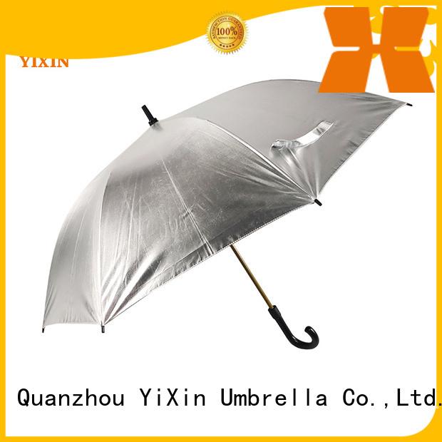 YiXin custom black and yellow golf umbrella manufacturers for kids