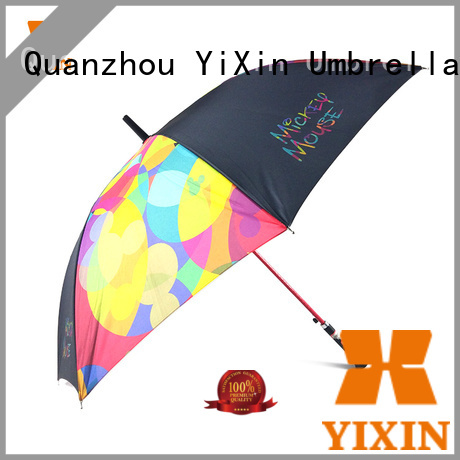 latest folding umbrella with hook handle no factory for men