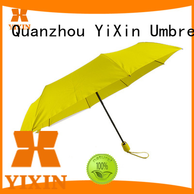 YiXin portable umbrella automatic open manufacturers for outdoor