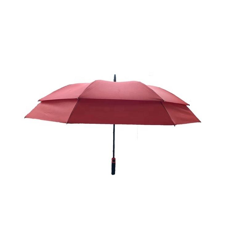 28 inch 8ribs Straight Auto Open Extendable Golf Umbrella