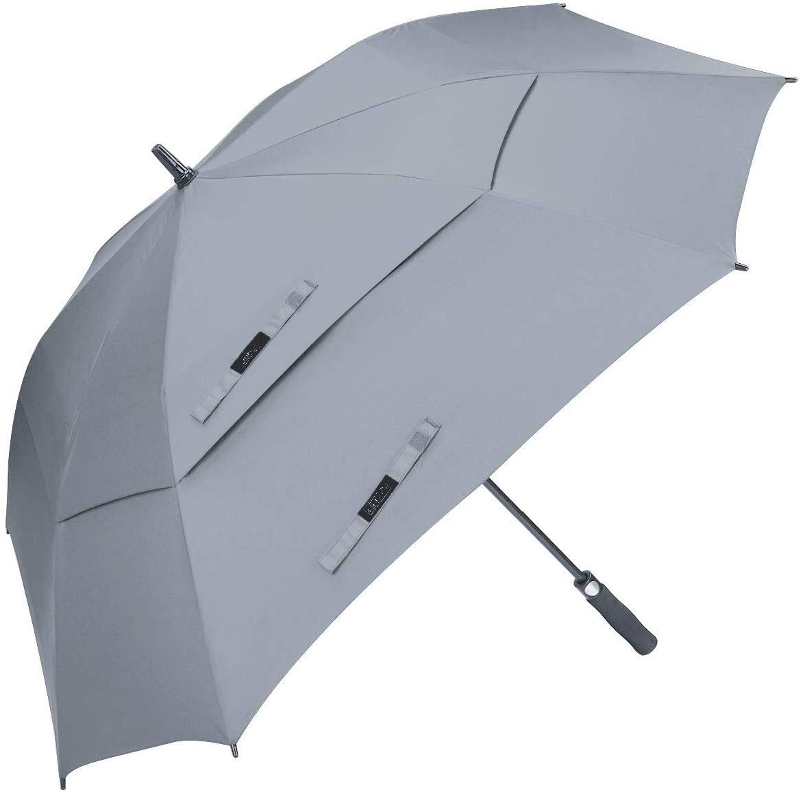 Custom Logo Large Golf Umbrella 62/68 Inch Vented Square