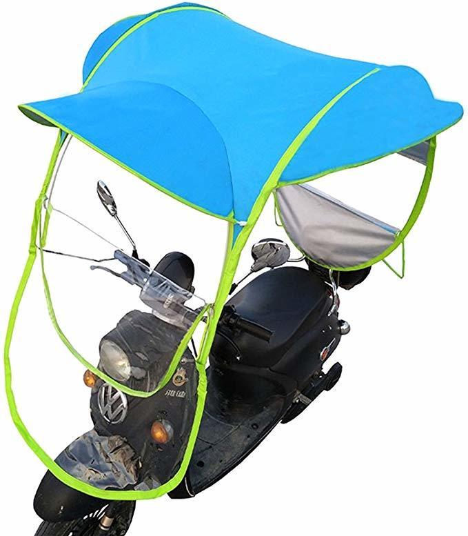 Custom Bike Rain Motorcycle Umbrella Windproof Waterproof
