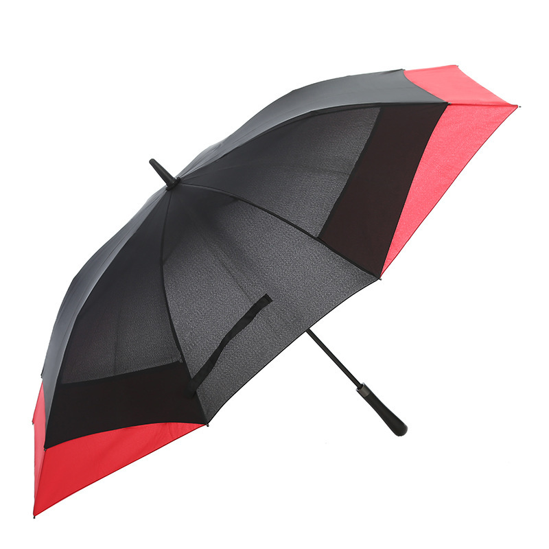 Factory Wholesale Auto Open Manual Foldable Straight Umbrella