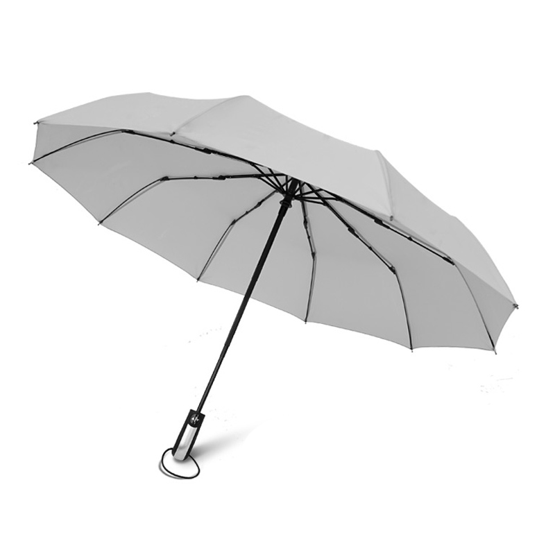 Three-fold umbrella