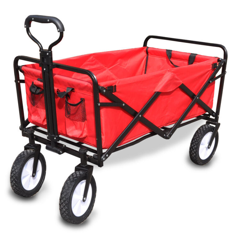 Outdoor Folding Camping Vehicle Small Cart Portable Camping Vehicle