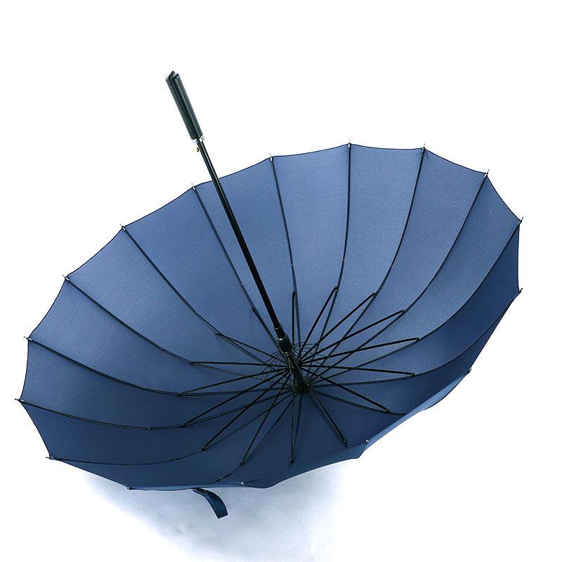 Straight business umbrella with umbrella cover long handle umbrella