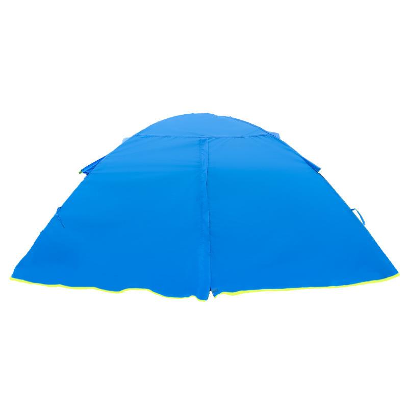 Upgraded three-season thunderstorm protection aluminum pole camp tent