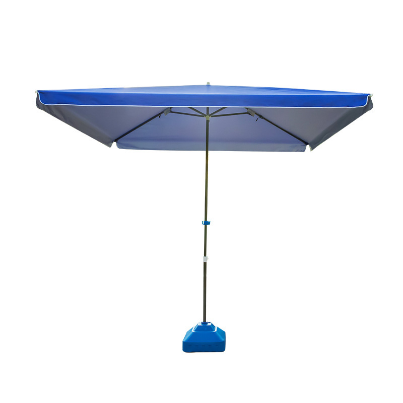 Large outdoor parasol square sun and windproof umbrella