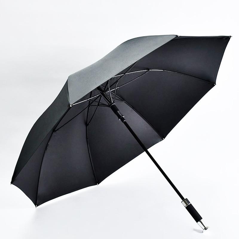 Rolls-Royce Style Business Umbrella Vinyl Long Handle Umbrella
