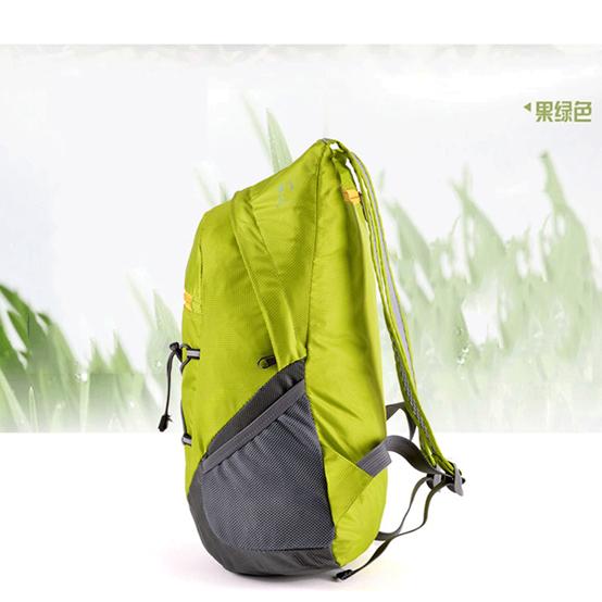 Outdoor folding backpack waterproof skin bag sports hiking mountaineering bag