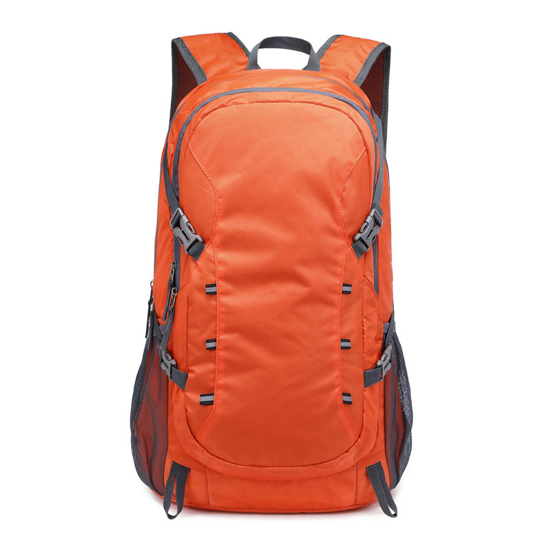 Ultra-light folding backpack outdoor large-capacity hiking sports travel mountaineering bag