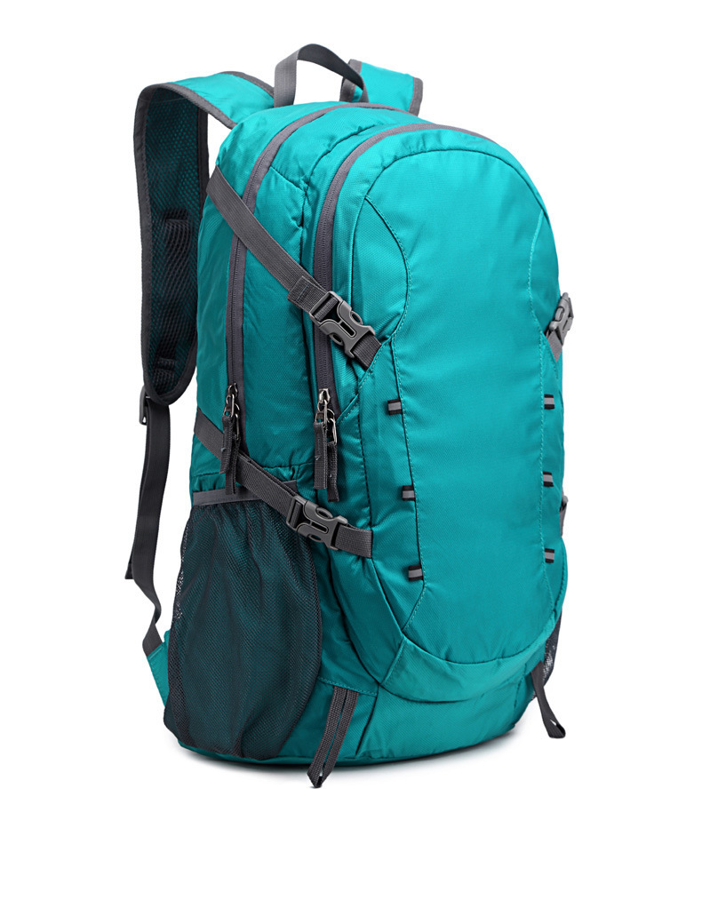 Ultralight folding backpack outdoor large capacity hiking travel mountaineering bag