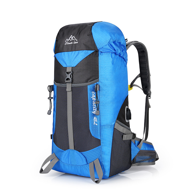 USB charging travel camping sports backpack hiking backpack